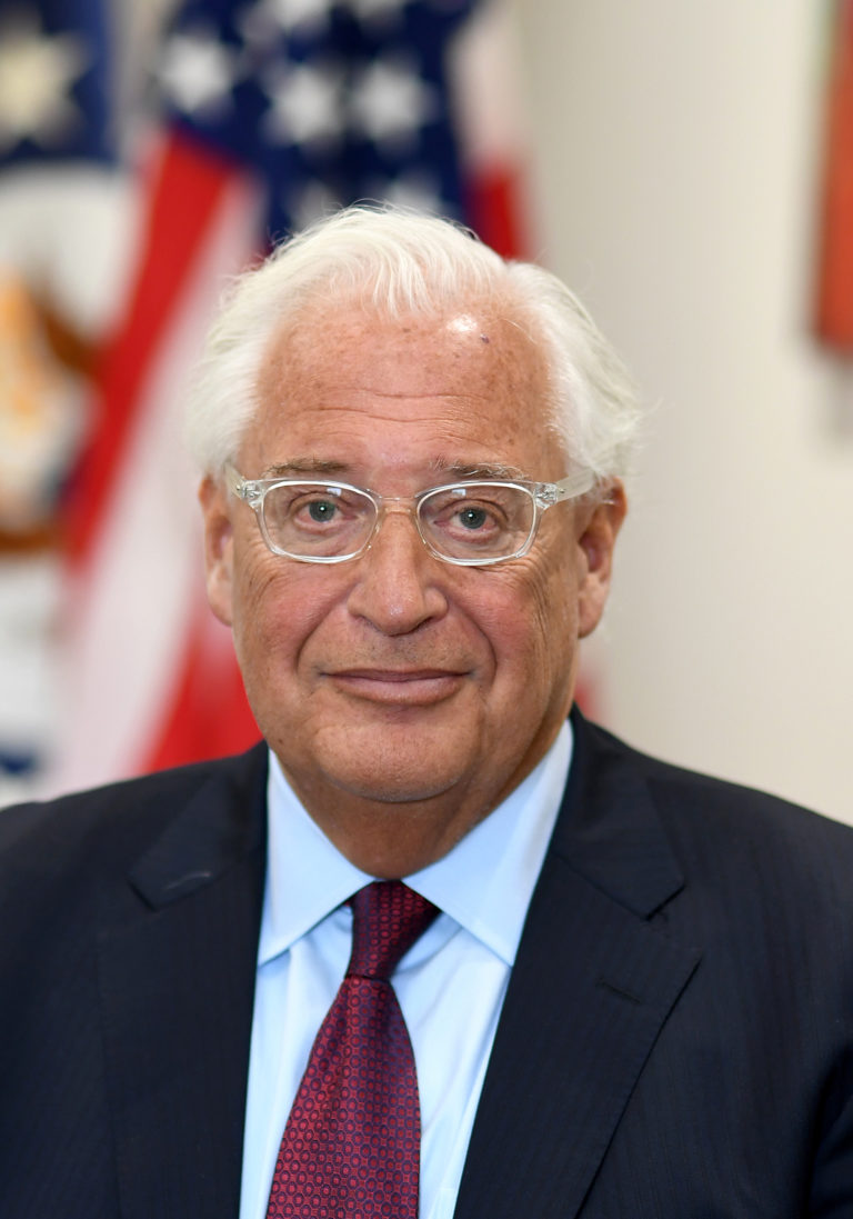 Photo of Ambassador David Melech Friedman