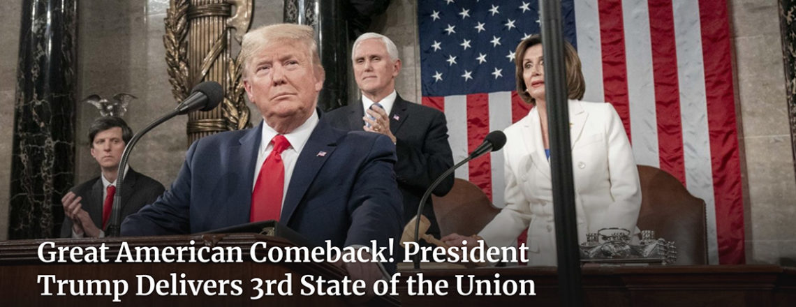 Remarks by President Trump in State of the Union Address