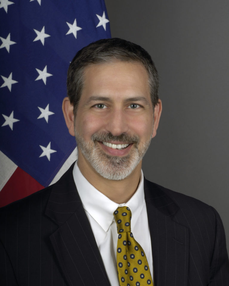 Photo of Chargé d'Affaires Jonathan Shrier