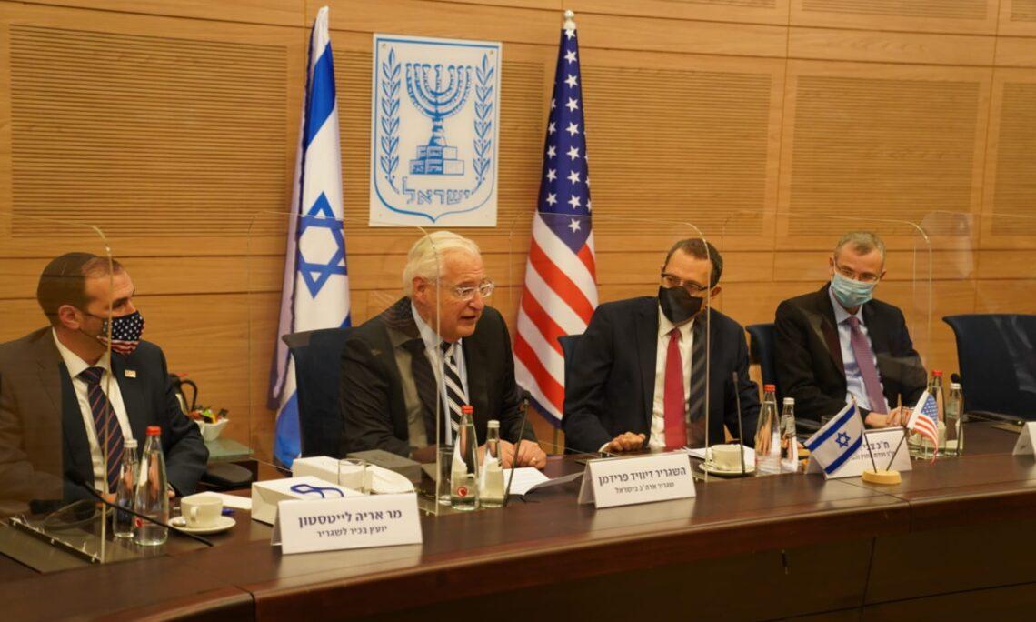 Photo credit: Danny Shem-Tov, Knesset Spokesperson's Office