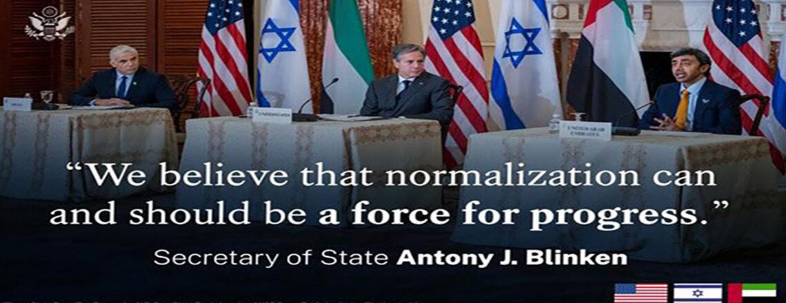 Secretary Blinken's Meeting with Israeli Foreign Minister