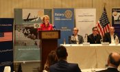 Ambassador Wells at the Rotary International Jordan Chapters, February 8, 2015