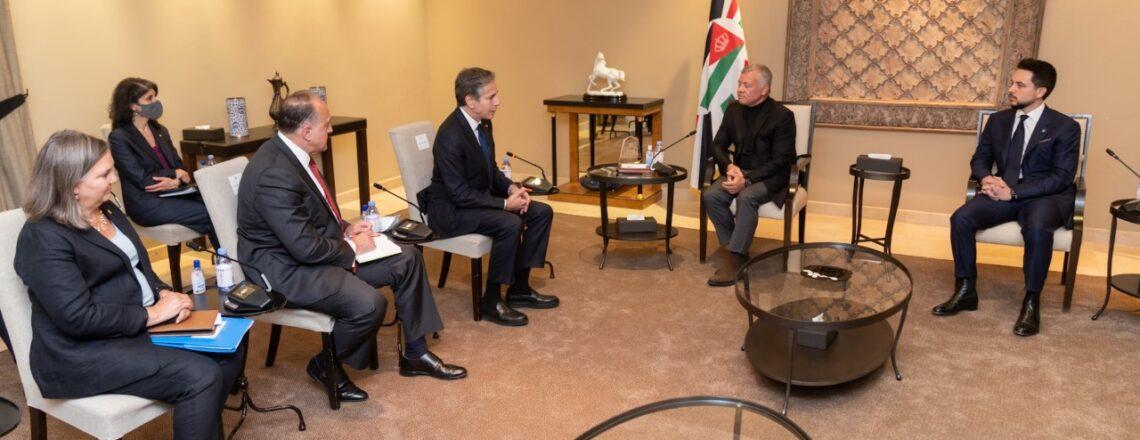 Secretary Blinken's Meeting with His Majesty King Abdullah II
