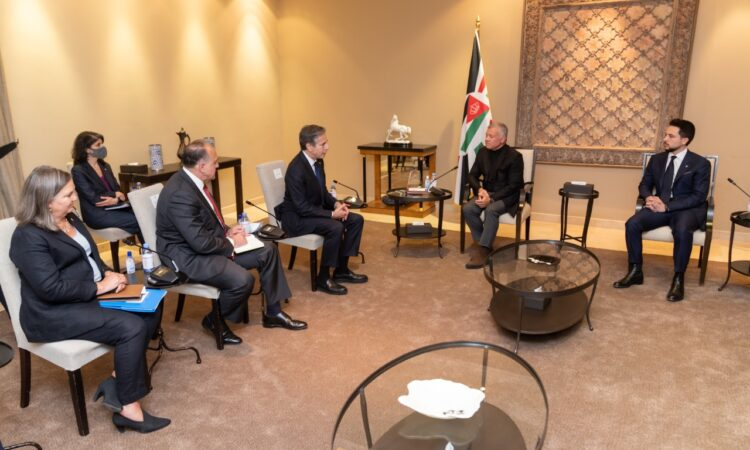 Secretary Blinken's Meeting with Jordanian King Abdullah II