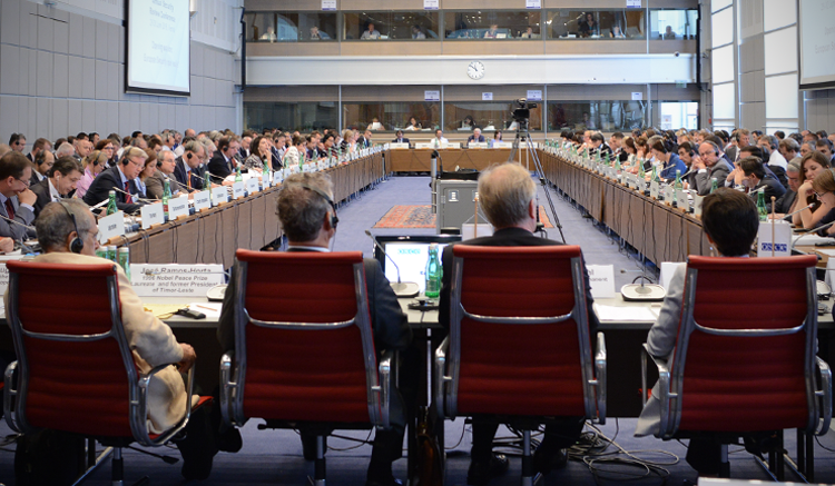 The 2016 OSCE Annual Security Review Conference in session. (USOSCE/Colin Peters)