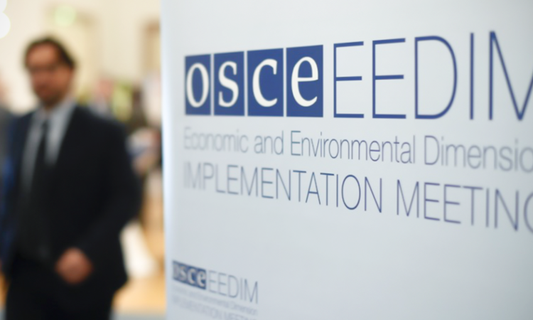 2016 OSCE Economic and Environmental Forum (USOSCE)