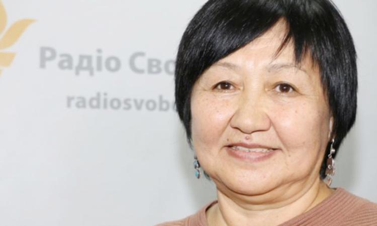 Как сообщают, кыргызская правозащитница Толекан Исмаиловой была под угрозой за ее участие в СРВЧИ 2016 года. (RFE/RL)