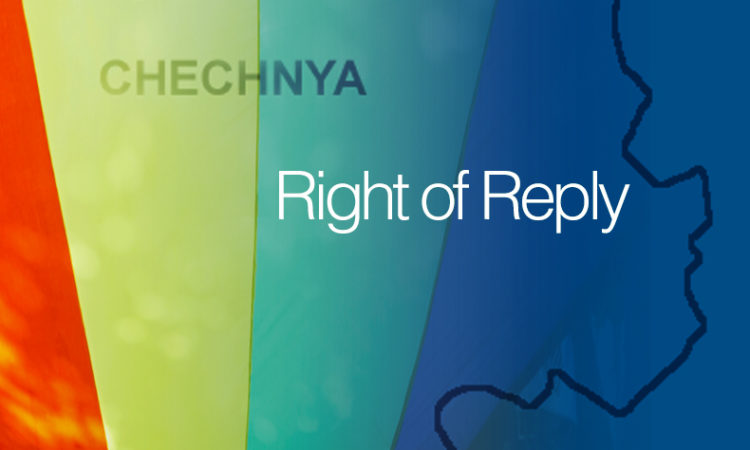 Chechnya Gay Rights ROR