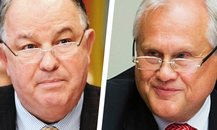 The OSCE's Chief Monitor in Ukraine, Ambassador Apakan, and the OSCE Chairperson-in-Office's Special Representative in Ukraine, Ambassador Sajdik.