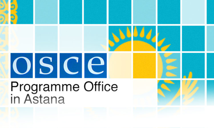 Programme Office in Astana, Kazakh Flag