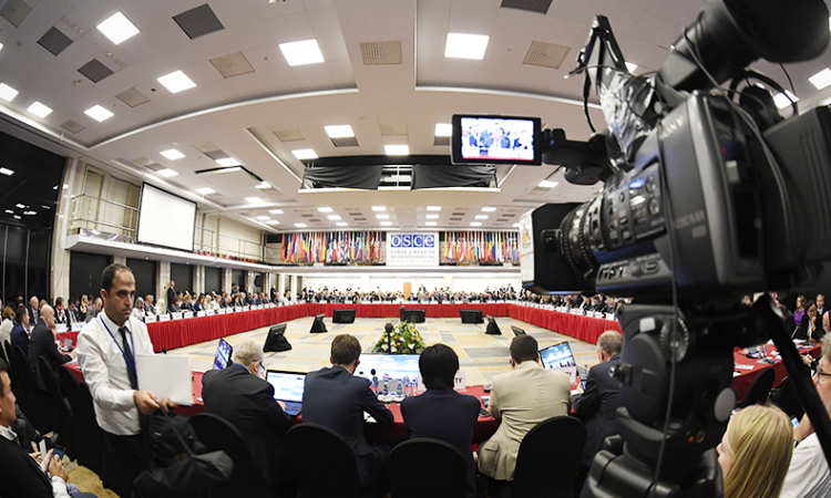 Opening Session of the 2018 OSCE HDIM
