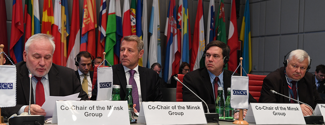 Response to the Minsk Group Co-Chairs, Personal Representative of the Chairperson-in-Offic