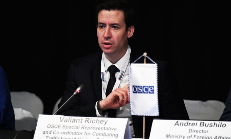 Val Richey at the OSCE 2019 Ministerial Council