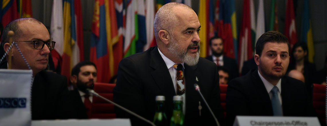 Albania Begins as 2020 OSCE Chair-in-Office