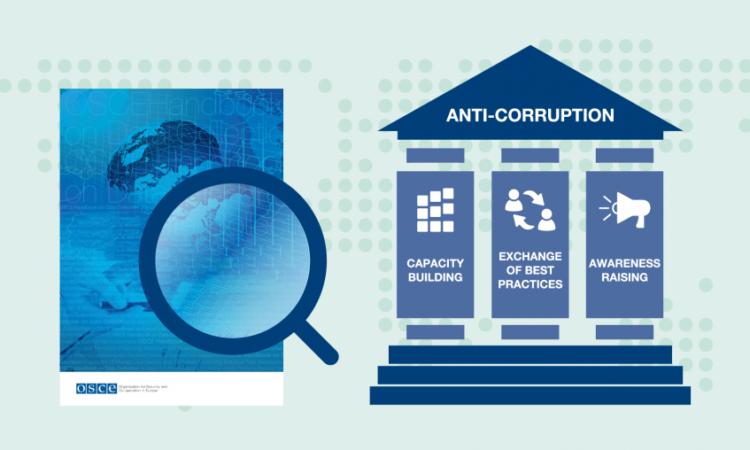 OSCE efforts to combat corruption.