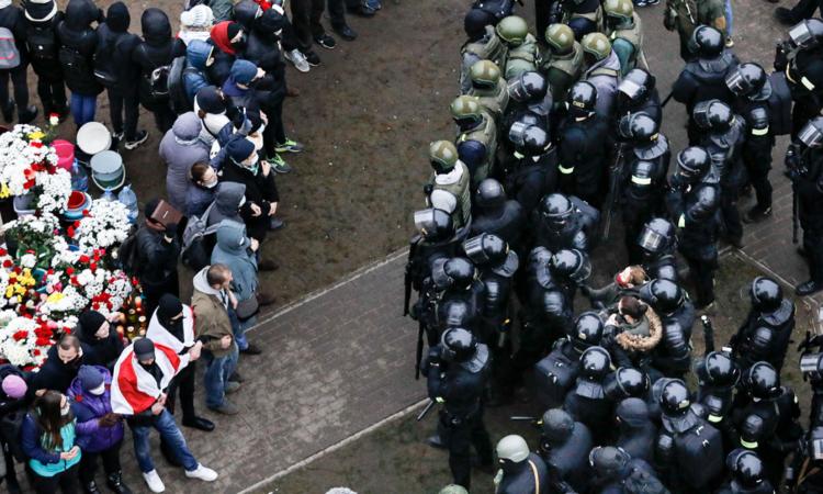 Human Rights Violations in Belarus (AP Photo)