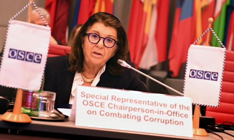 Special Representative on Combating Corruption Paola Severino
