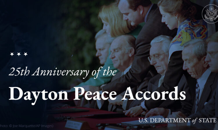 Twenty-fifth Anniversary of the General Framework Agreement for Peace in Bosnia and Herzegovina (Dayton Accords)