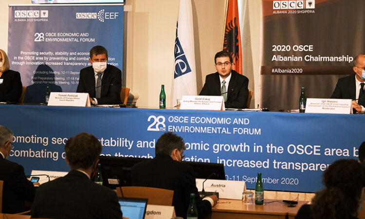 The 28th OSCE Economic and Environmental Council, Prague (photo: OSCE)