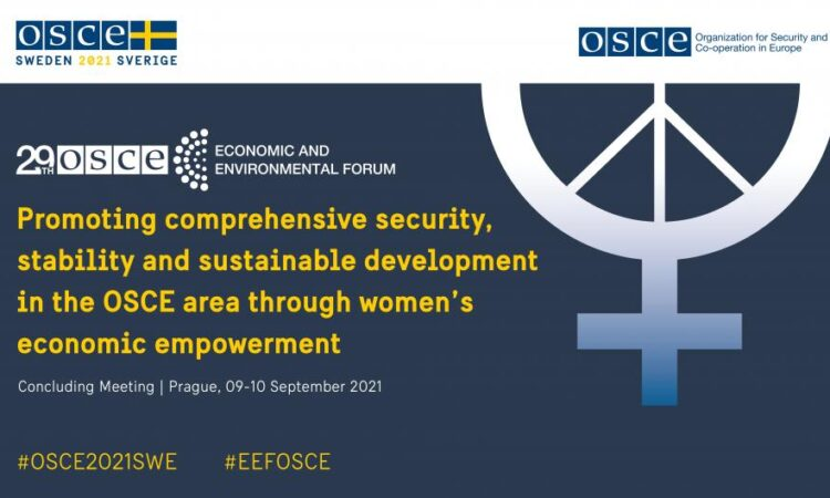 As the United States has noted before, I would like to reiterate that the OSCE is overdue for an updated consensus decision on women's economic empowerment.