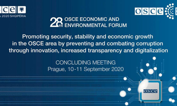 Concluding Meeting of the 28th OSCE Economic and Environmental Forum in Prague. (OSCE)