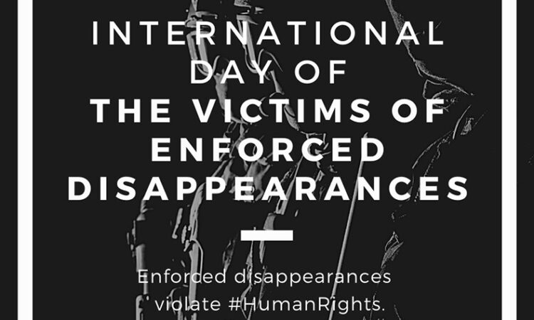 International Day for the Victims of Enforced Disappearances (Twitter, State DRL)