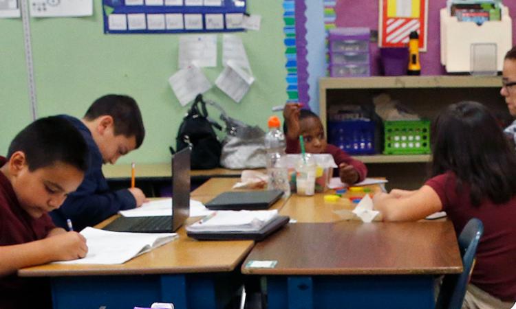 Classroom in America