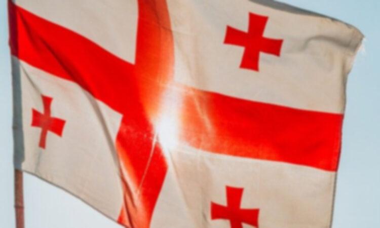 Georgian national flag