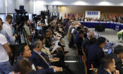 The Opening Session of the 2019 HDIM Meeting in Warsaw, Poland, 16 Sept 2019. (photo: OSCE)