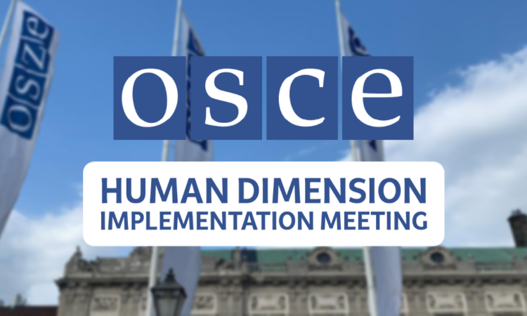 Russia's continued obstruction of the path to the 2021 HDIM unless its unilateral demands are met is not how a responsible participating State behaves.