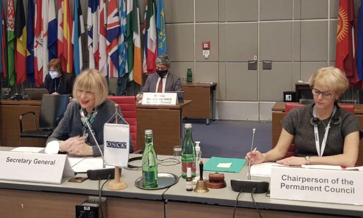 Inaugural Remarks by the new OSCE Secretary General Helga Schmid
