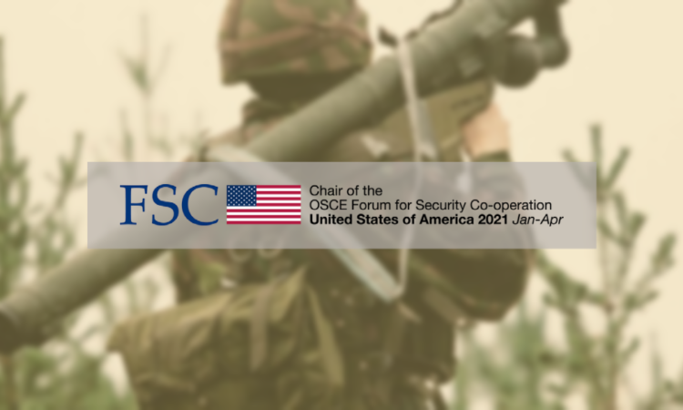 Security Dialogue on MANPADS, convened by the U.S. Chair of the OSCE Forum for Security Co-operation (FSC).