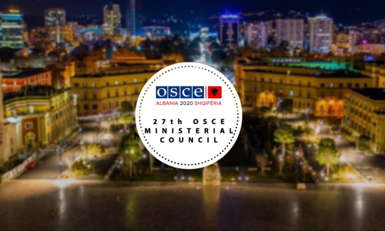 The 27th OSCE Ministerial Council