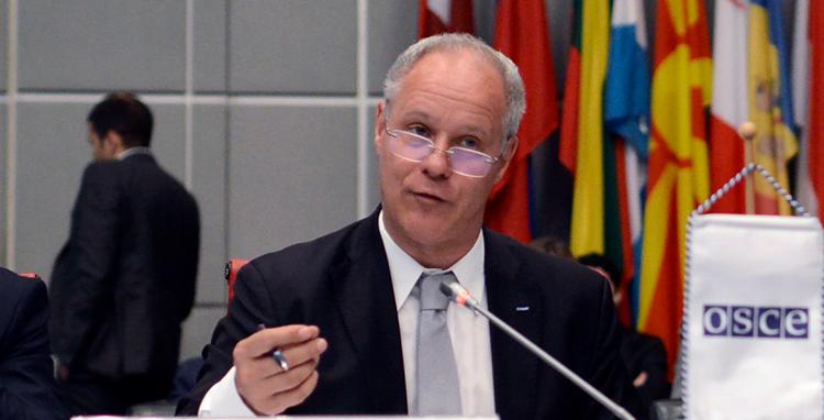 Response to the Report by the OSCE Project Co-ordinator in Uzbekistan, Ambassador Pierre von Arx (USOSCE Photo)