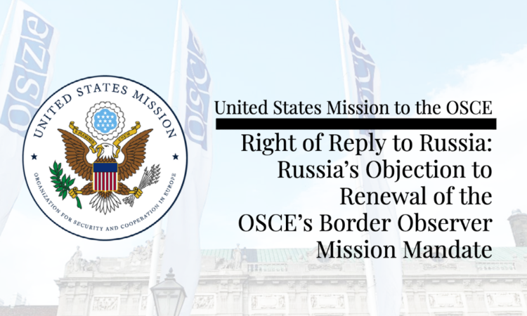 Russia's current objection to the Border Observer Mission's mandate renewal looks to be just the latest in a long line of broken promises