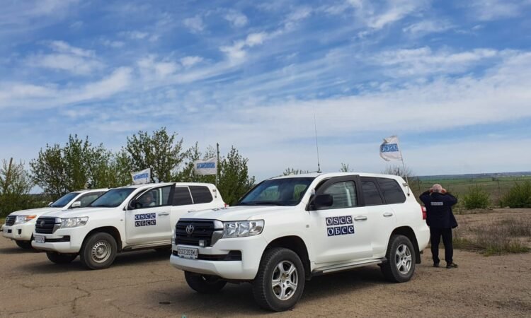 The United States is concerned by the increasing frequency of Russia-led forces hindering the work of the SMM. (OSCE/SMM)