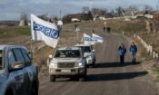 In blatant disregard of the SMM mandate, Russia and Russia-led forces continue to restrict the SMM's movement. (OSCE/Evgeniy Maloletka)