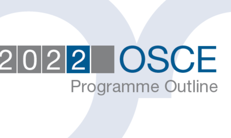 Presentation of the 2022 Programme Outline by the Secretary General, Helga Maria Schmid