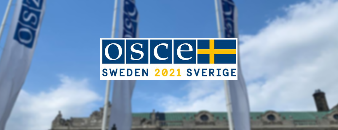 Sweden took over OSCE Chair