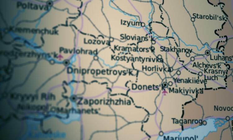 Ukraine Map 1 May 21