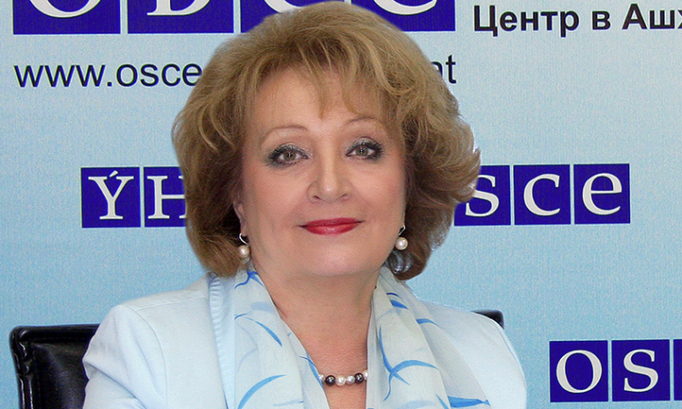Head of the OSCE Centre in Ashgabat, Ambassador Natalya Drozd (photo: OSCE)