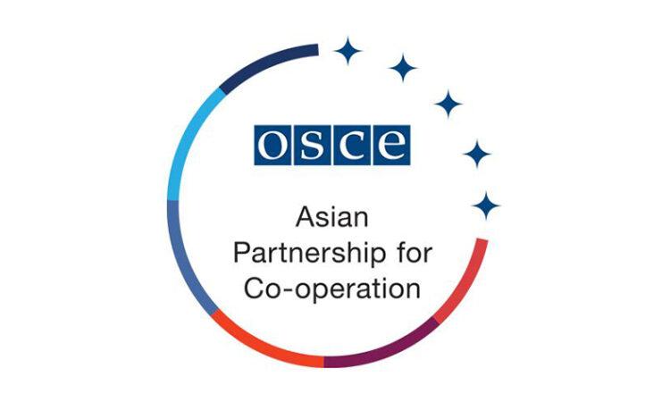 Logo of the OSCE Asian Partnership for Co-operation. (OSCE)