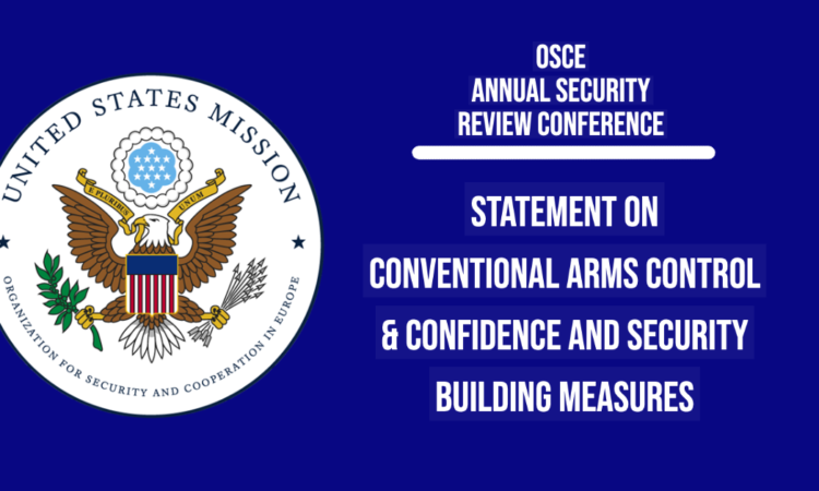 We continue to call on Russia not only to implement in full its existing commitments under the Vienna Document, but also to engage constructively on its modernization.