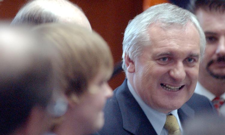 Former Taoiseach of Ireland, Bertie Ahern