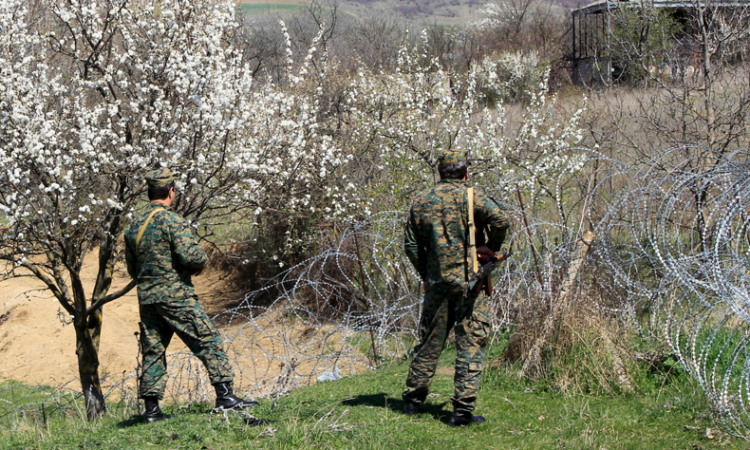 Georgian border patrol
