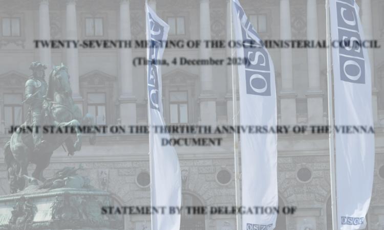 Joint Statement Vienna Document