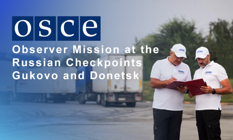 OSCE Observer Mission to Gukovo and Donetsk