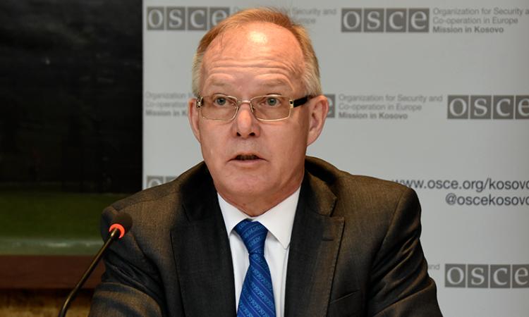OSCE MiK Ambassador Braathu
