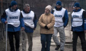 Monitors of the OSCE Special Monitoring Mission to Ukraine (photo: OSCE SMM)