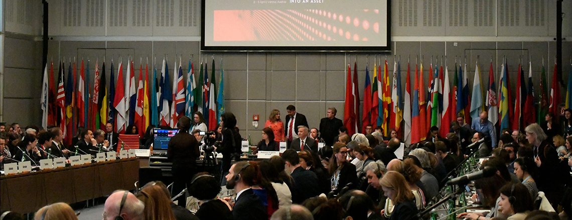 Opening Session of the 19th Alliance Against Trafficking in Persons Conference